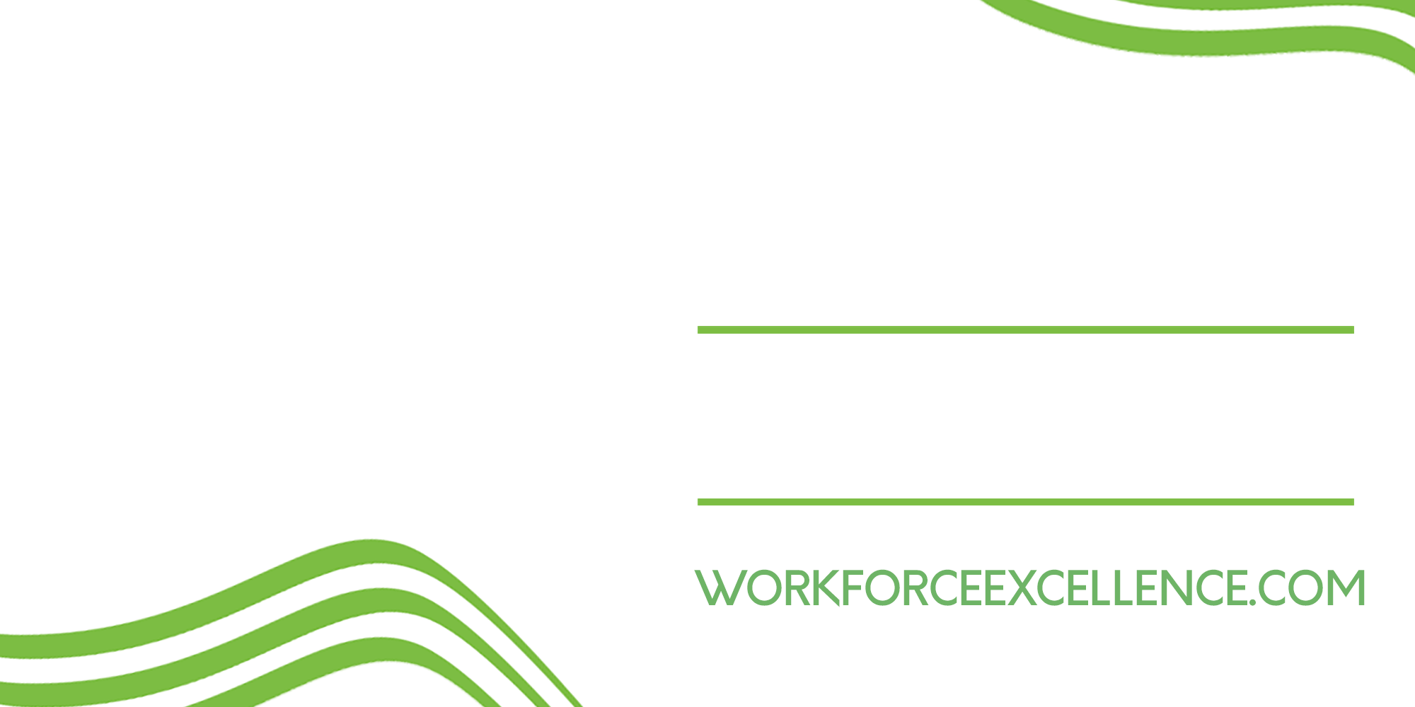 About Us - The Center for Workforce Excellence